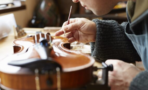 Przygotowanie skrzypiec